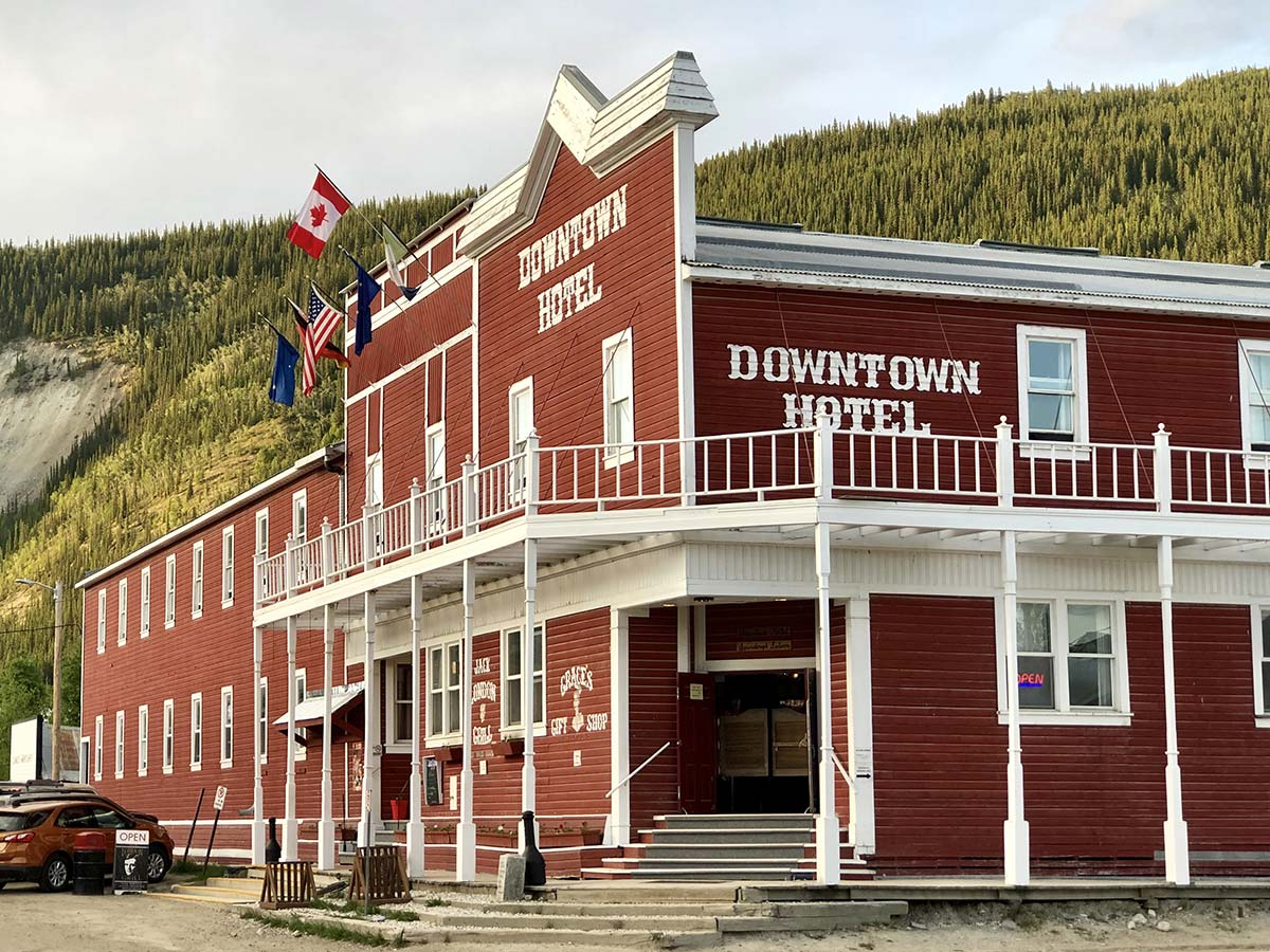 Downtown Hotel, Dawson City